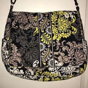 Vera Bradley Diaper Bag & Wristlet